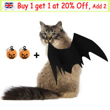 More details for bat wings costume halloween cosplay dress-up for small cat kitten puppy pet dog