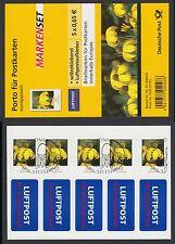 Bund FB 2  gest.Folienblatt aus 2009  10 x Nr. 2517  Blumen Sonnenhut  ESST
