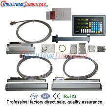 3-Axis Micro Lineaer Scale Digital Readout System for Mills Milling Machine
