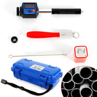 Portable Hardness Tester 360° Measuring Leeb Durometer w/ NDT Testing and LCD