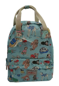 Cath Kidston Backpack Dogs with Hang Loop Soft Blue Colour New withTag