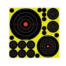 "6 /"" Birchwood Casey haute viz Shoot N C Objectifs Tir Fusil Pistolet à Air"