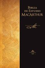 Biblia de Estudio MacArthur by John MacArthur (2011, Hardcover, Large Type)