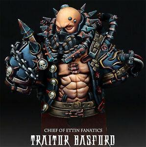 1/12 Traitor Basford Resin Bust Model Kits Unpainted GK Unassembled
