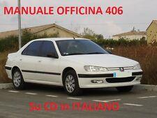 PEUGEOT 406 (1995/2005) Manuale Officina ITALIANO SU CD