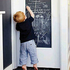 Blank Chalkboard Wall Sticker Removable Blackboard Decal Home Decor Black UK