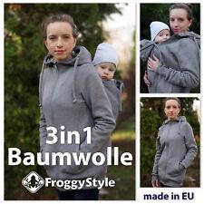 NEU! Baumwolle Tragejacke Umstandsjacke für Tragetuch Babytrage Größe M