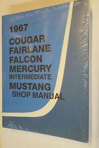 Manual de Taller / Manual Del Taller Ford MUSTANG & Mercury Cougar 1967