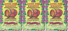 3 x Weinhefe JOHANNISBERG für Honigweine Naturhefe Gärhefe Reinzuchthefe