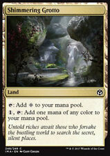 MTG 4x SHIMMERING GROTTO EXC - GROTTA SCINTILLANTE - IMA - MAGIC