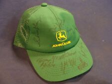 John Deere Youth Size Summer Hat with 2007 PBR Rider Signatures