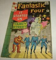 MARVEL FANTASTIC FOUR # 29 Watcher Appearance Daredevil HOT FF KEY LEE & KIRBY
