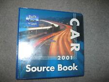 FORD DEALER CAR SOURCE BOOK 2001