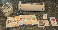 "Cricut Expression 24"" *LOT* 5 CARTRIDGES, JUKEBOX, EXTRA BLADES, CARRYING CASE"