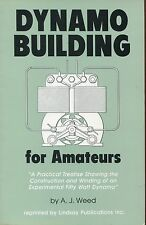 Book - Dynamo Building for Amateurs - Motor Generator Construction How To Make