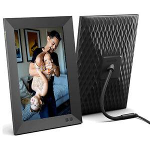 """Nixplay W10F-06 WiFi 10.1"""" Smart Photo Frame (Black)"""
