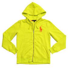 Polo Ralph Lauren Womens Hoodie Big Pony Logo Fleece Full Zip Xs S M L Xl Nwt