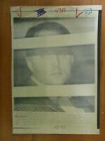 AP Wire Press Photo- Larry Layton People's Temple Member Convicted 1986