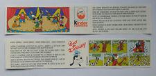 U-ei Cartina BPZ kinder surprice La banda Disney -  Pippo anni 80