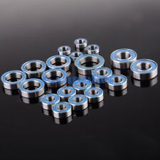 RC Traxxas Slash 4x4 2WD Ball Bearing Blue Rubber Sealed Bearing FULL Set 20PCS