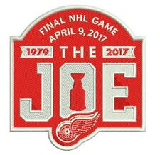 "2016-17 DETROIT RED WINGS APRIL 9TH FINAL GAME ""THE JOE"" PATCH SPECIAL EDITION"