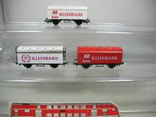 AE273-0,5# 3x Kleinbahn H0 Güterwagen 60 Jahre ÖBB, TOP
