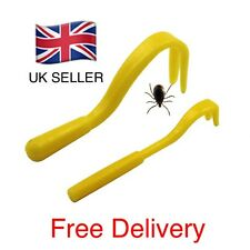 Tick Remover Tool 2 Piece Cat Dog Rabbit Human Same Day UK Dispatch.