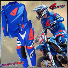 COMPLETO CROSS ENDURO MADE IN ITALY UFO REVOLUTION TAGLIA S - 46 BLU