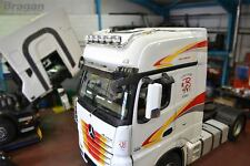 TO FIT 2012+ mercedes actros mp4 Big Space Cab Drop Down Roof Light Bar B