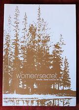 Women's Secret ~ Big Lingerie Catalog ~ Fall/Winter 2001 ~ Panties Bras