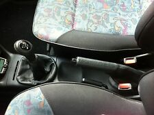 Se adapta a Seat Ibiza Cordoba 1993-1999 Gear Freno De Mano Polaina Nuevo Negro Stitch
