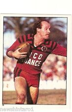 1983 RUGBY LEAGUE STICKER  #16 SIMON BROCKWELL, BEARS