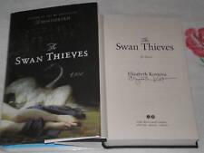 The Swan Thieves by Elizabeth Kostova  **SIGNED**