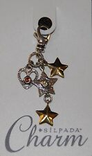 SILPADA Sterling Silver Charm Collection - Shoot for the Stars - C2568 - NIB!
