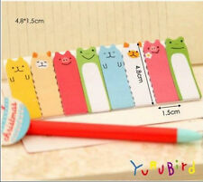 Funny Animal Sticker Post-It Bookmark Marker Memo Flag Index Tab Sticky Note HS7