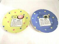 Pot Luck By Rosanna Set of 2 Dessert Plates CAKE RECIPES