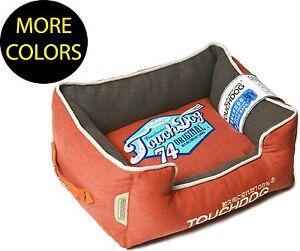 Original Sporty Vintage Reversible Plush Rectangular Designer Pet Dog Bed Beds