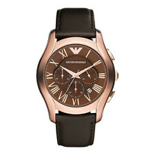 Armani Classic Watch Brown / Rose Gold Quartz Analog Men's Watch AR1701