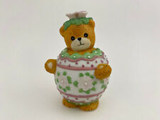 Lucy & Me Enesco Easter Egg Bear 1991