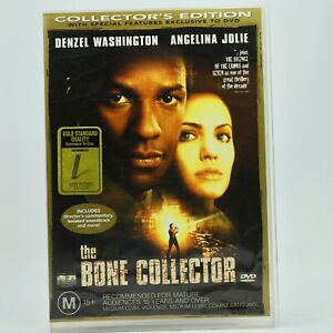 The Bone Collector Collector's Edition Denzel Washington Angelina Jolie DVD GC