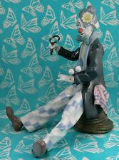 Lladro # 5762 ~ CHECKING THE TIME ~ Clown W/Clock   ***MINT***