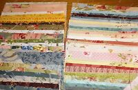 SALE!   CHARM PACK 60 ASSORTED  5 INCH SQUARES 100% QUILTING WEIGHT COTTON