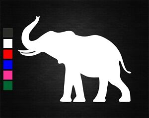 ELEPHANT #3 SAFARI VINYL STICKER CAR/VAN/WALL/DOOR/LAPTOP/TABLET/WINDOW/HOME