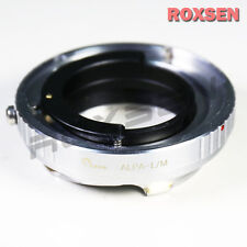Alpa lens to Leica M L/M Mount LM Adapter M7 M8 M9 M9P M-E Type 240 246 camera