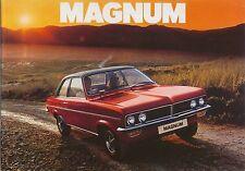 Vauxhall Magnum 1800 2300 1975-76 Original UK Sales Brochure Pub. No. V2293 Viva