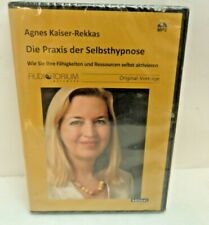 ANNES KAISER REKKAS DIE PRAXIS DER SELBSTHYPNOSE  MP3 CD NEW