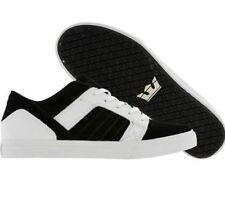 Supra Men's Skylow Suede Shoes - Black/White - Various Sizes - New