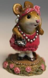 Wee Forest Folk M-171 Zelda (Pink Dress) 1990 (AP) WFF