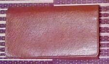 Vintage Brown Real Leather Mens Wallet Boxed New Unused