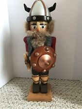 "Authentic Steinbach Nutcracker 11"" Viking Handmade in Germany  S730"
